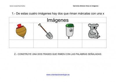 Actividades de rimas para alumnos con dislexia imagenes_9