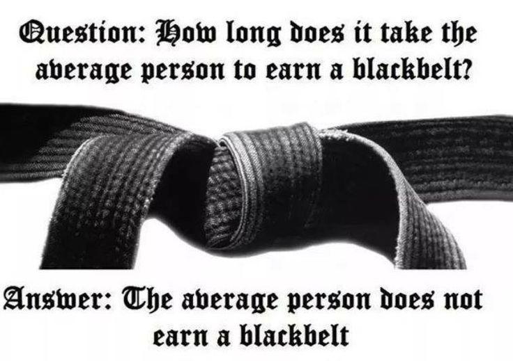 The average person does not earn a Black Belt. Don't be average. Lion's Den Hodges Kenpo Karate, Kerman, CA