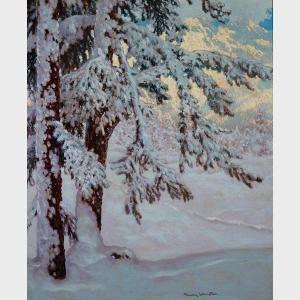 Franz Hans Johnston - Snowy Solitude