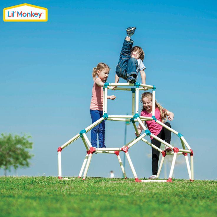 Drabinka dla dzieci Lil'Monkey Toys World - lalki, maskotki, zabawki edukacyjne