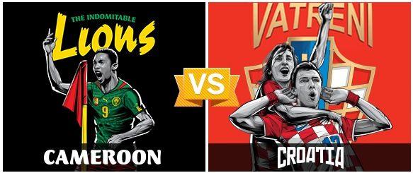 GRUPO A / #CAM vs #CRO (0 - 4) / 18.06.14 / Arena Amazonia (Manaos)