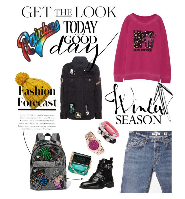 """#winterMorning"" by nancykou on Polyvore featuring Marc Jacobs, Marc by Marc Jacobs, RE/DONE and Miss Selfridge"