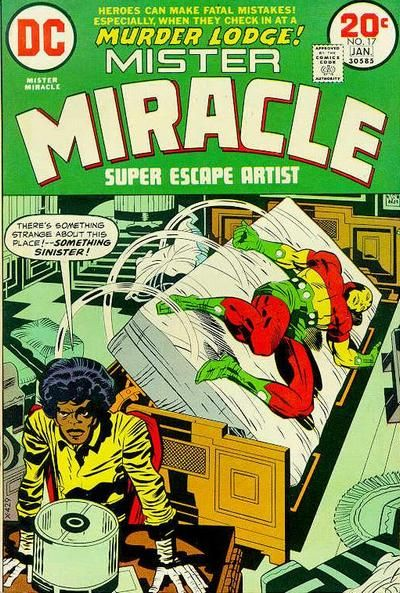 Mister Miracle (1971 series) #17 - Jack Kirby