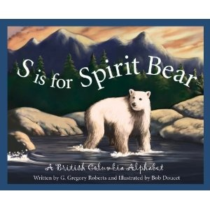 S is for Spirit Bear: British Columbia - to read aloud for Canada Quilt Project