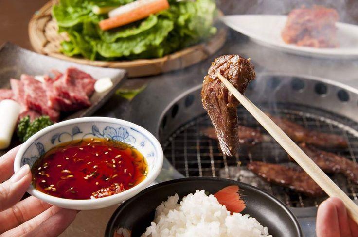 #Yakiniku, la versión japonesa de la barbacoa coreana.