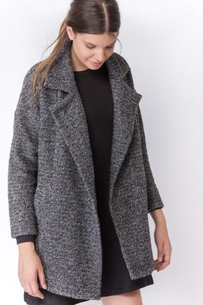 CAPPOTTO TASCHE FILETTO 20X - Coats & Jackets - Clothes