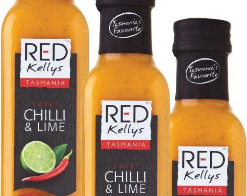 Red Kellys Tasmania sweet chilli and lime dressing. YUM!