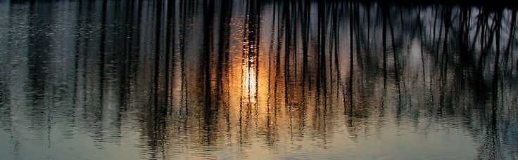 Evening by the lake by Hubert Müller on 500px