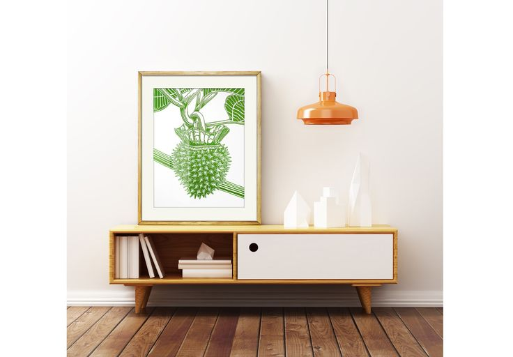 Present your artwork on a wall and in a beautiful room!
