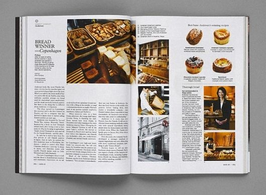 Monocle does the BEST journal layouts. I am a big fan of how they use the grid.