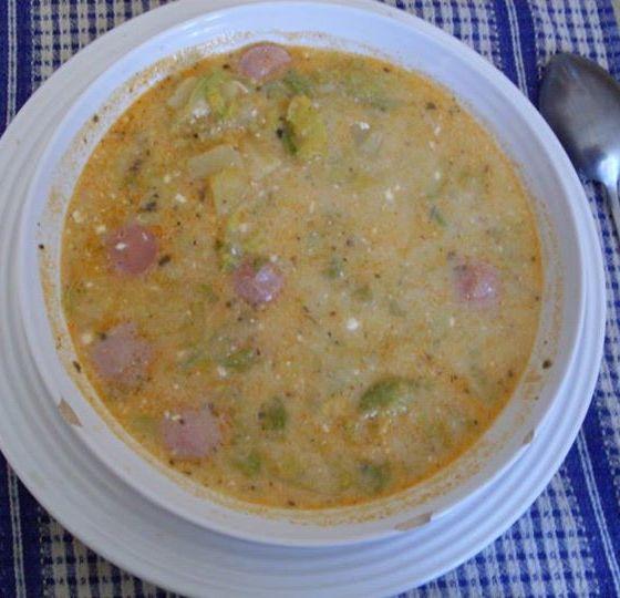 Majoránnás frankfurti leves ~~ receptek365.info
