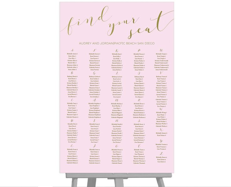 Best Wedding Seating Chart Images On   Wedding