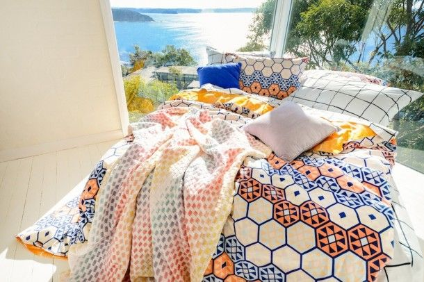 Kip + Co. SS14/15 : Adventurous and awesome bedlinen and homeware designed in Australia // Photography by Tim Swallow, Styling by Amber Lenette