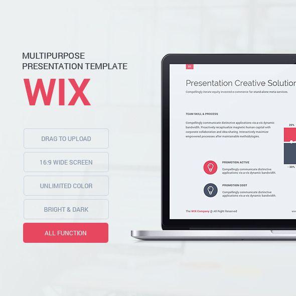 Wix - Presentation Template