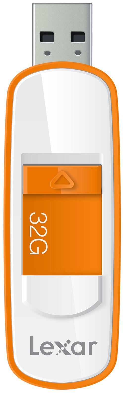 [TABLOÏD SEPTEMBRE 2015] Clé USB 3.0, S75 : Une clé rétractable avec stockage et transfert de contenu plus rapide grâce à la technologie SuperSpeed USB 3.0.  Capacités de 16 à 256 Go. A | RÉF. LJDS75-32GABEU - 32 GO http://www.exertisbanquemagnetique.fr/info-marque/lexar