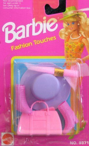 Barbie Fashion Touches Accessories (1992 Arcotoys, Mattel) #Barbie
