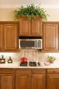 How To Install Crown Molding For Staggered Cabinets