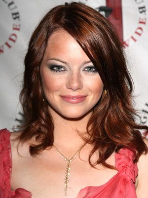 Getting my hair done today...can't decide between this auburn or blonde highlights.  Thoughts???? Nic