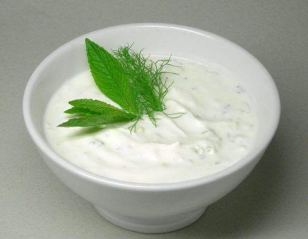 طريقة عمل سلطة الزبادى لورق العنب Food Kebab Sour Cream