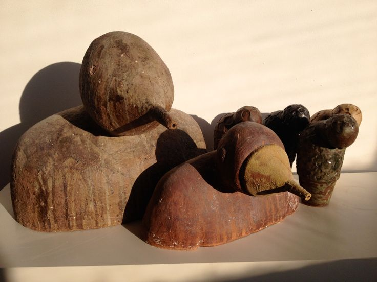 Cosmumutos y Ushebtis www.lobobarbarroja.com