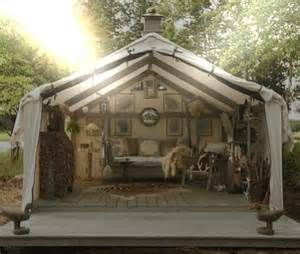 rddusa blog | Army tent modifications: A cabin in the woods