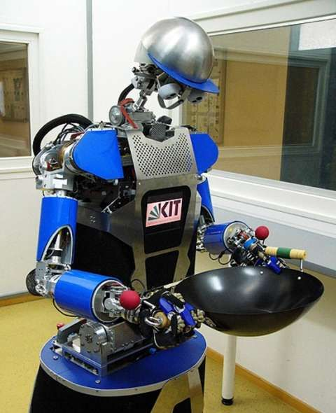 Homework helping robot