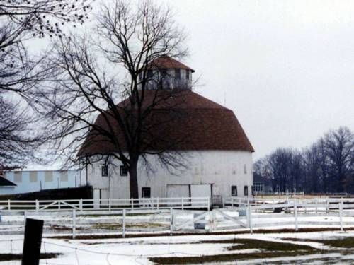 Round Barn in Elida, OH ----  THIS IS THE TOWN WHERE A LOT OF MY FAMILY IS FROM!!!  I'M NOT FAMILIAR WITH THE AREA THOUGH :(