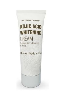 Made in USA KOJIC ACID WHITENING CREAM of THE VITAMIN COMPANY is a widely acclaimed skin helping equation. It has no reactions as it contains characteristic fixings like Japanese Mushrooms, Arbutin and Licorice Root Extract.
