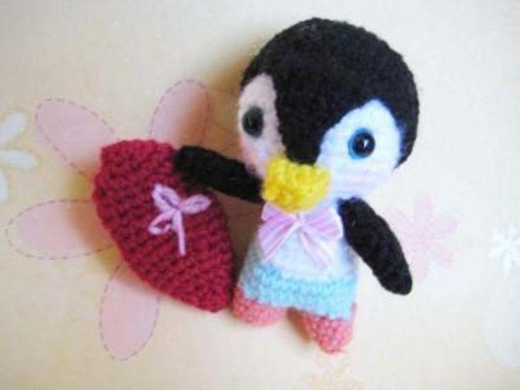 Quick And Easy Amigurumi Patterns : 1000+ ideas about Crochet Penguin on Pinterest Crochet ...