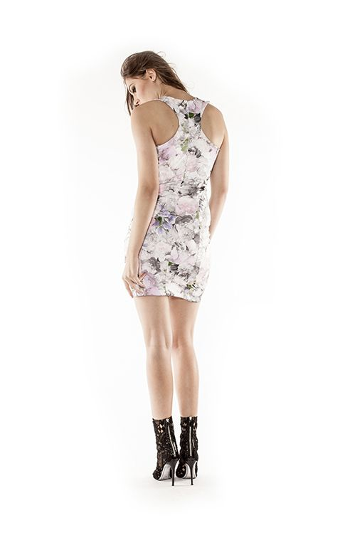 Perfect party dress #partydress #floraldress #tightdress #balmain #fashiondress