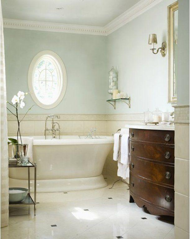 Baños Decoracion Verde:baño verde