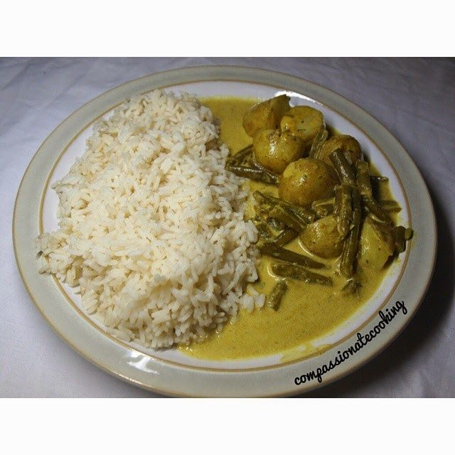 Compassionate Cooking: Vegan Potato Curry