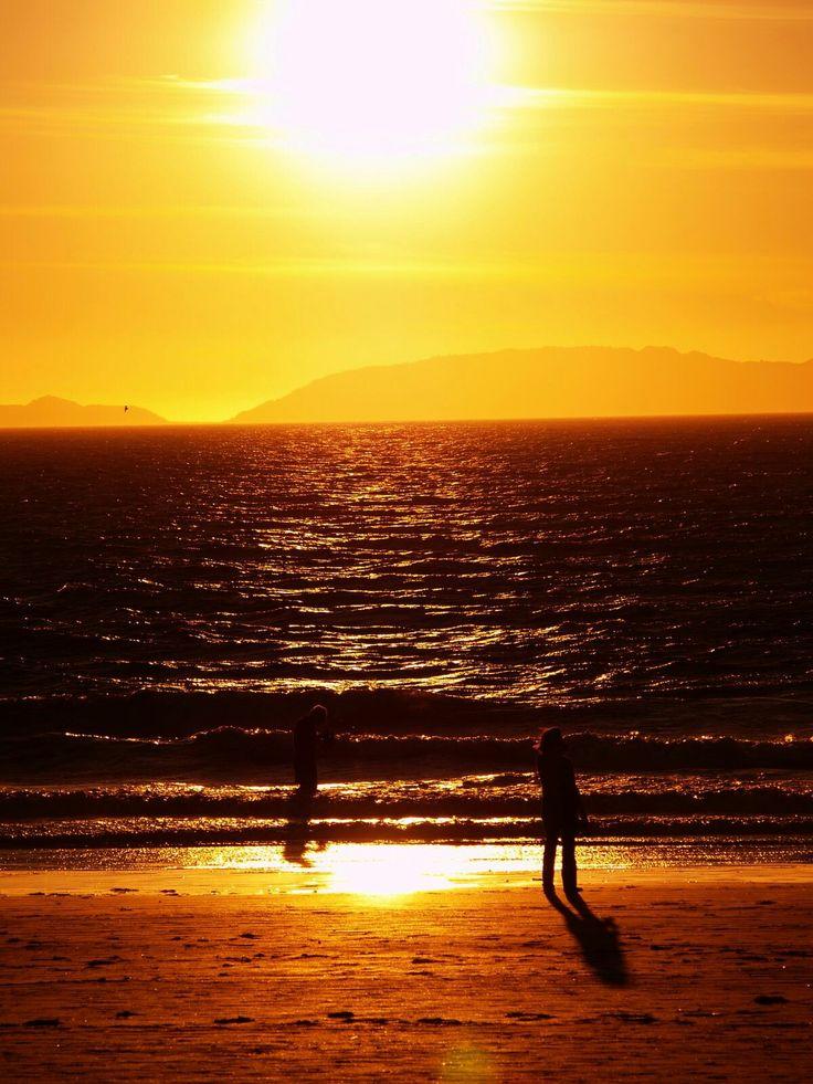 Playa de Samil en Vigo