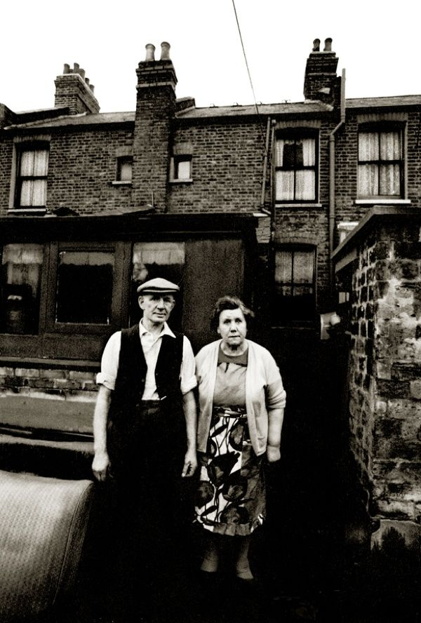 The window on the top right of this photograph wasJohn Claridge's former bedroom when he took this astonishing portrait of his neighbours in Plaistow – Mr & Mrs Jones – in 1968, on a visit home in his early twenties. Once, at the age of eight, John saw a plastic camera at an East End fun fair and knew he had to have it. And thus, in that intuitive moment of recognition, his lifelong passion for photography was born. Saving up money from his paper round in the London Docks, John bought a ...