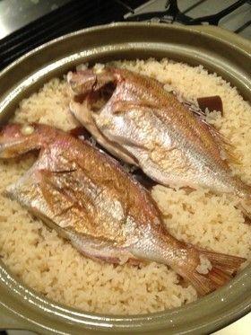 土鍋で鯛めし by emmy [クックパッド] 簡単おいしいみんなのレシピが ...