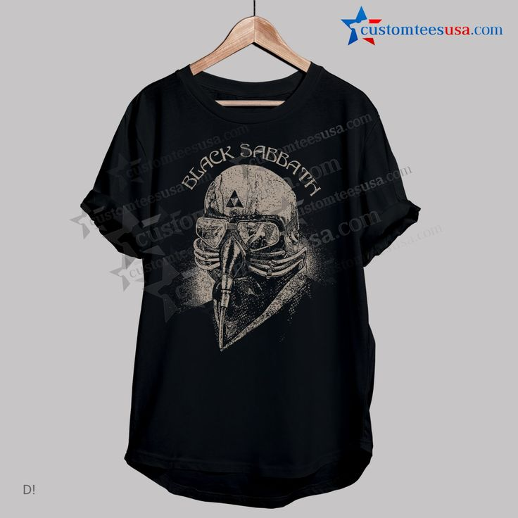 Black Sabbath Band T-Shirt – Adult Unisex Size S-3XL