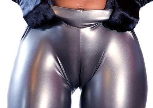 Asian in leggings porn black