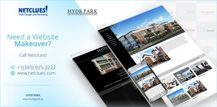 We've been busy doing what we do best- Making websites!! Here's the latest one for Hyde Park- the epicenter of avant grade living in the Cayman Islands.
