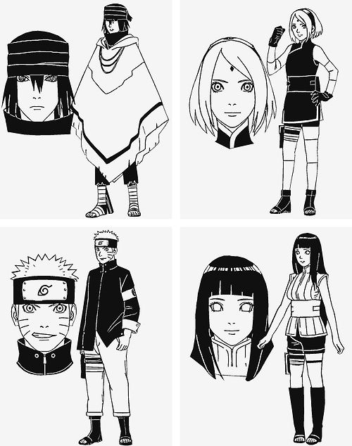 Character Design Naruto The Last : So the manga has ended after much stupidity with a kind