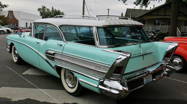 1958 Buick Century Caballero Estate Wagon Cool Classics
