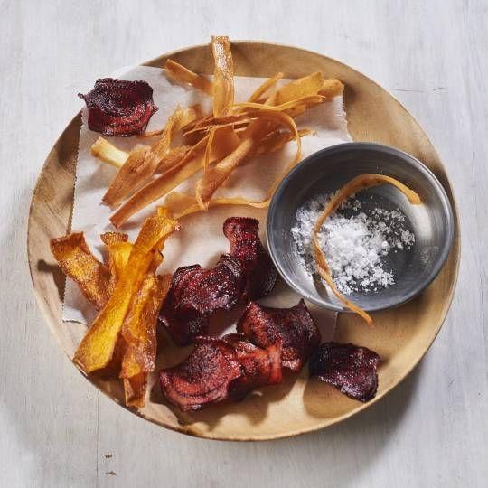 Koken als een pro. Chips en krokantjes. Kooktechniek: groentechips