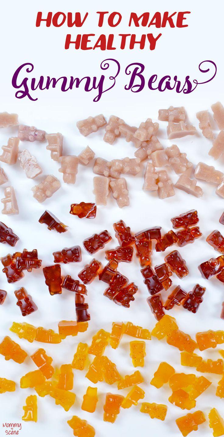 How to Make Healthy Gummy Bears - Mommy Scene