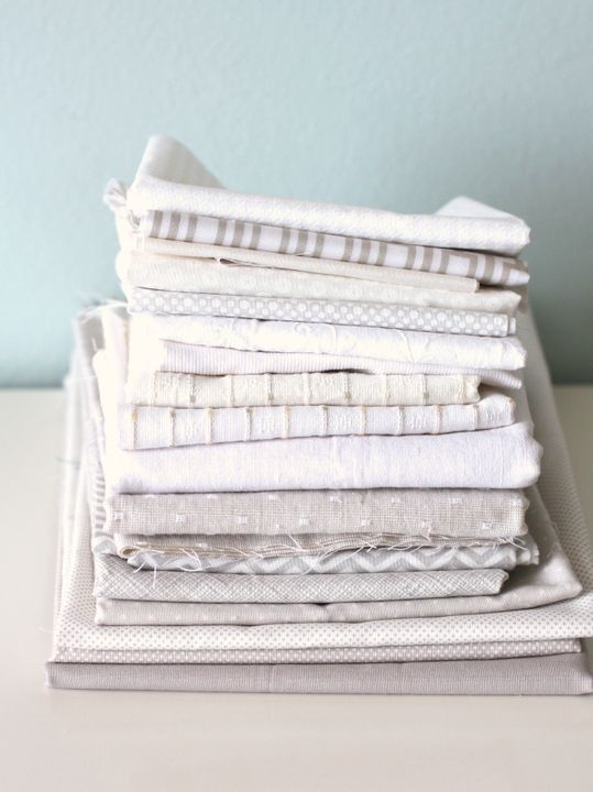 Sewing with neutrals: Denims, Linens and Chambrays - Diary of a Quilter - a quilt blog
