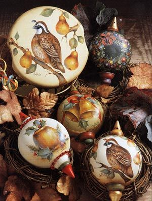 Gretchen Cagle | Partridge, pears, bells, wreath and brass