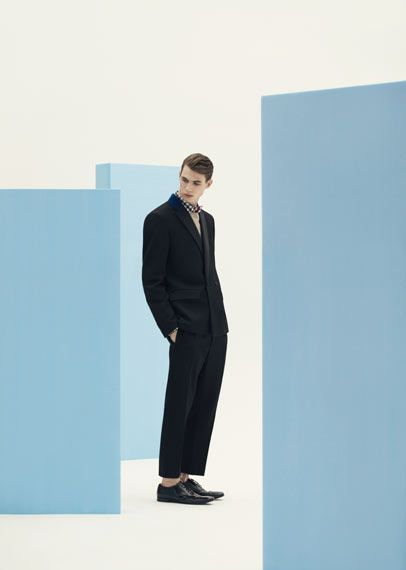 Wallpaper* Magazine Design Awards 2014: Prada wins best men's fashion collection (A/W 2013). Photography: Devin Blair