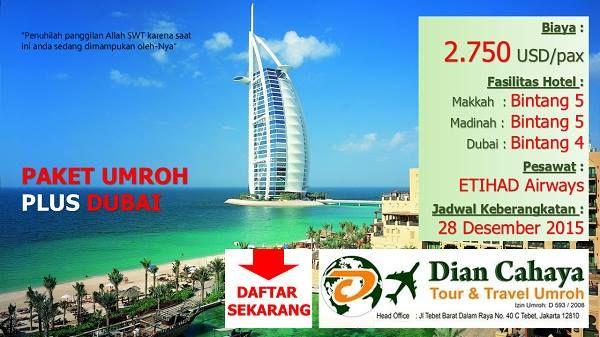 Jadwal Paket Umroh Desember Plus Dubai