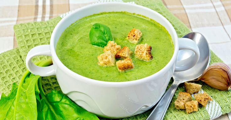 Spinach-Mung Detox Soup [Recipe]
