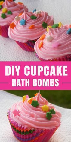 Fun DIYs for the Bath   Awesome Crafts To Make At Home for Kids and Teenage Girls   Cupcake Bath Bomb How To and Tutorial