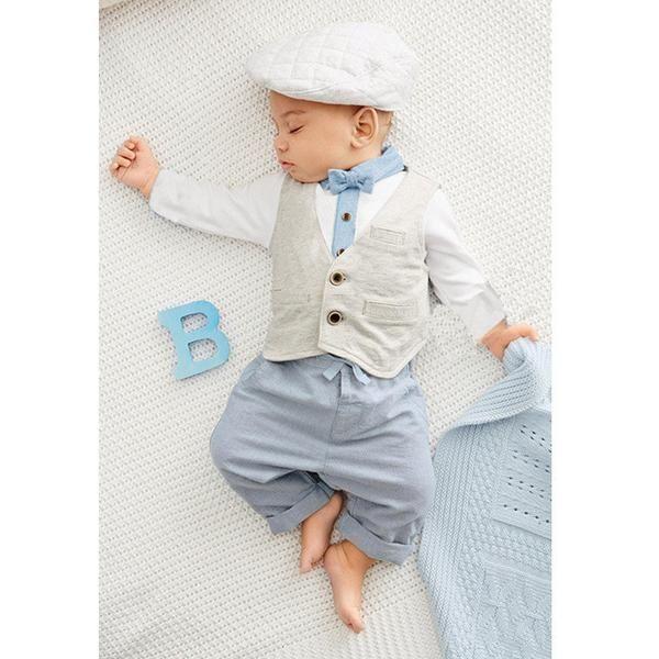 British Gentleman Set for Baby at $ 19,99  Sizes : 4-6 Months, 7-9 Months, 10-12 Months, 13-18 Months, 19-24 Months.