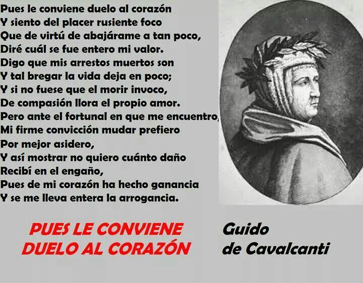 Guido de Cavalcanti (Florencia, Italia)